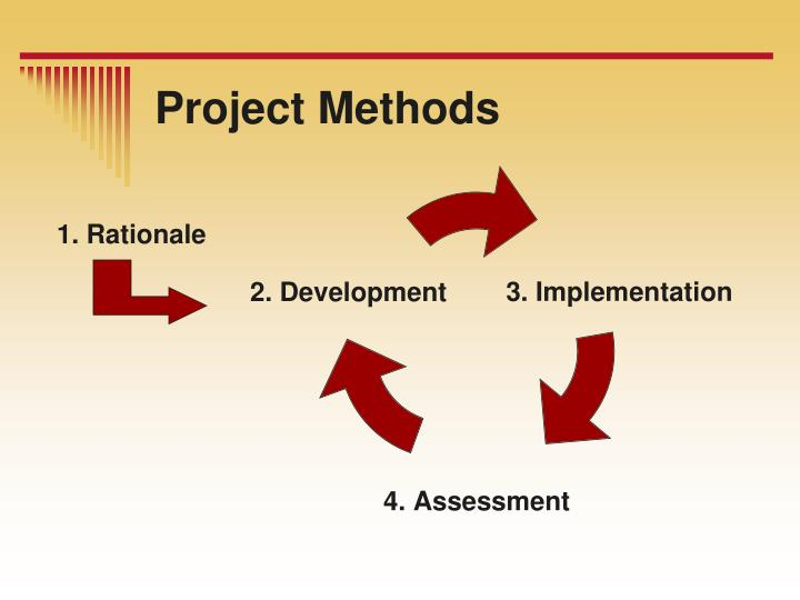 Project methods