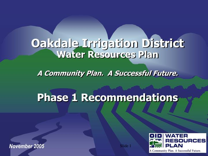 Oakdale Irrigation District