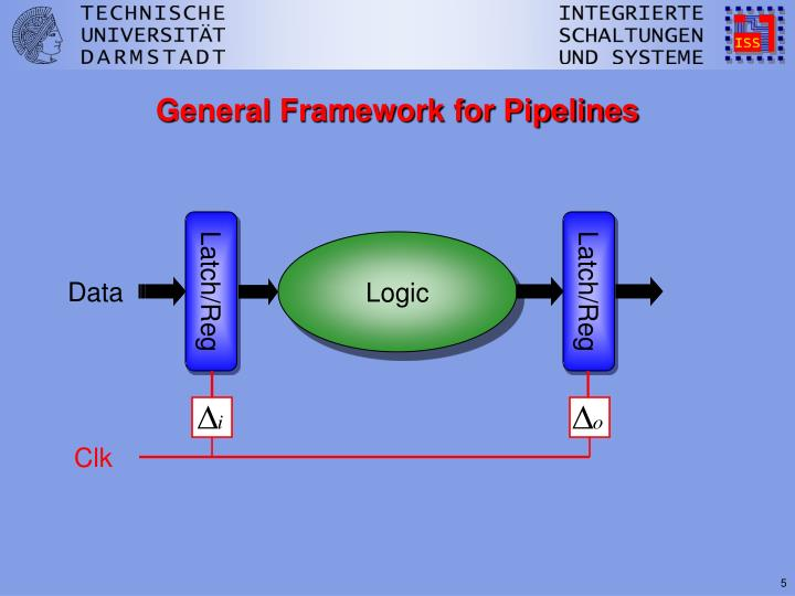 General Framework for Pipelines