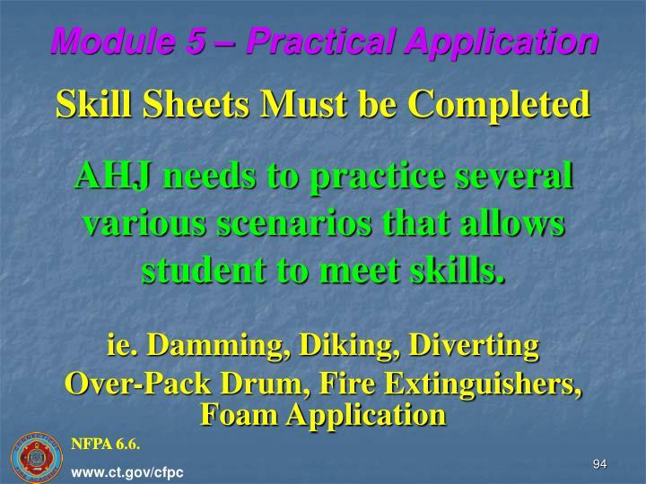 Module 5 – Practical Application