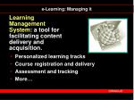 learning management system a tool for facilitating content delivery and acquisition
