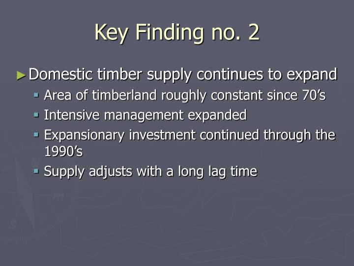 Key Finding no. 2