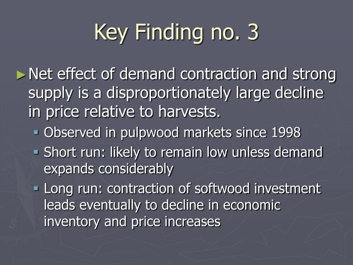 Key Finding no. 3
