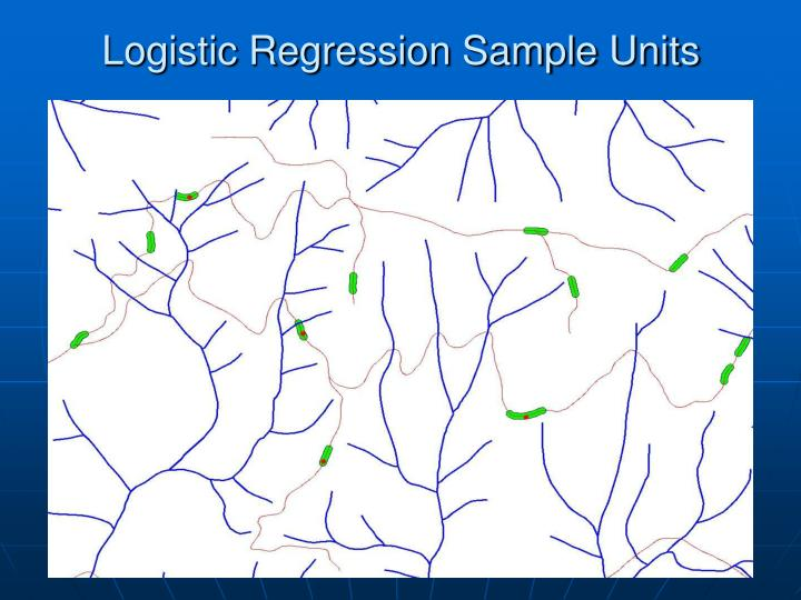 Logistic Regression Sample Units