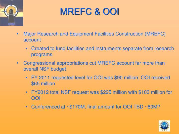 MREFC & OOI