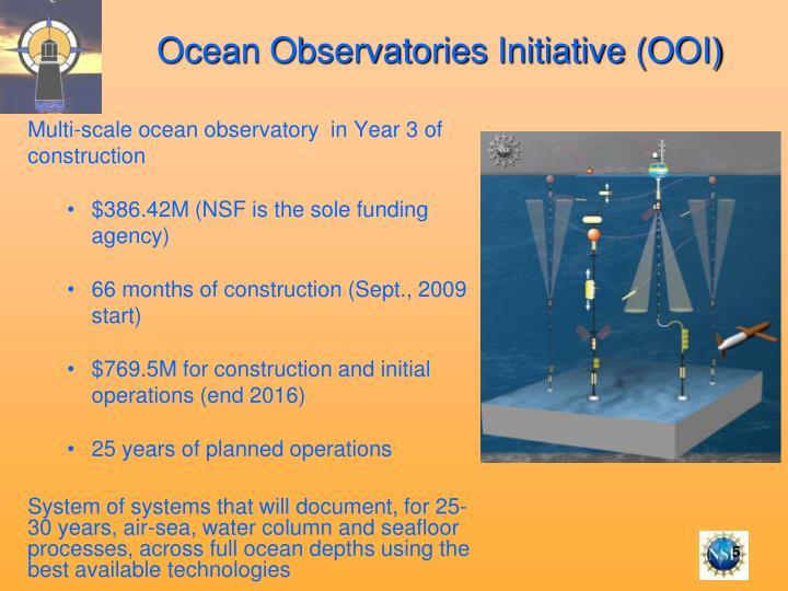 Ocean Observatories Initiative (OOI)