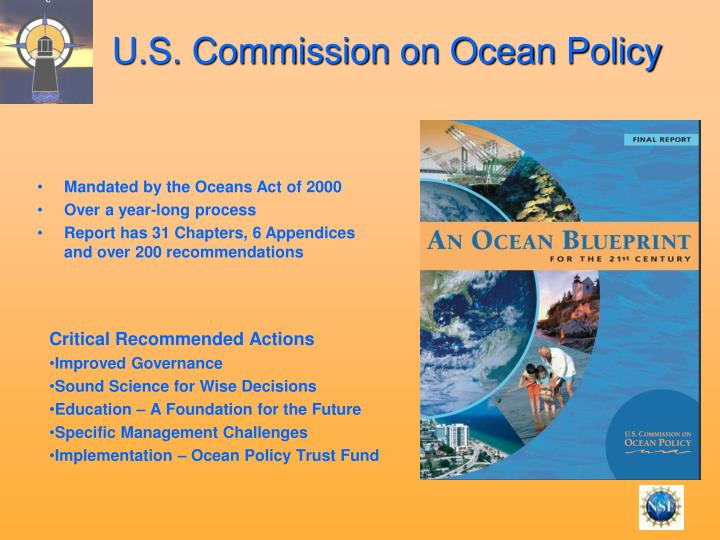 U.S. Commission on Ocean Policy