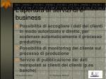l apertura ai servizi di e business
