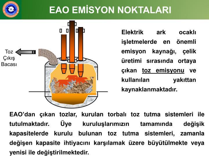 EAO EMİSYON NOKTALARI