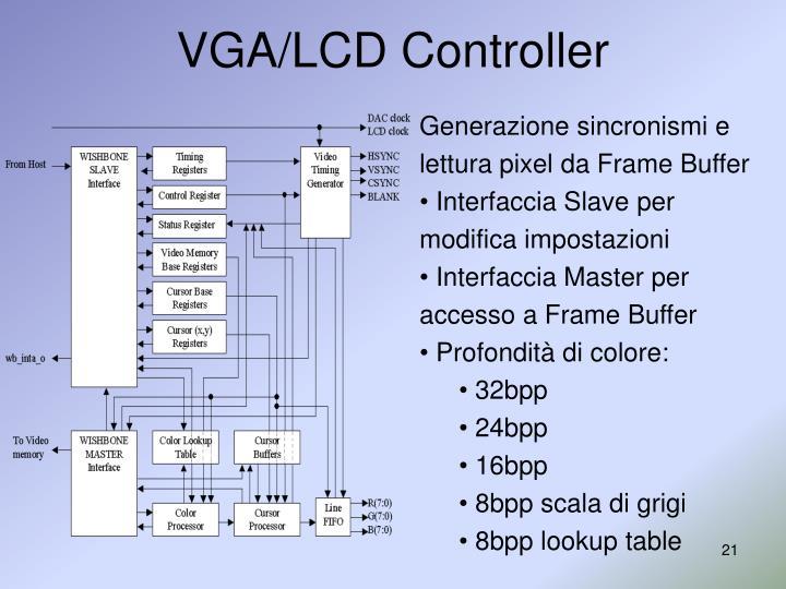 VGA/LCD Controller