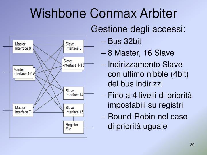 Wishbone Conmax Arbiter