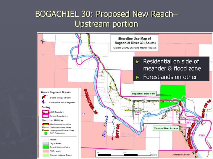 BOGACHIEL 30: Proposed New Reach–