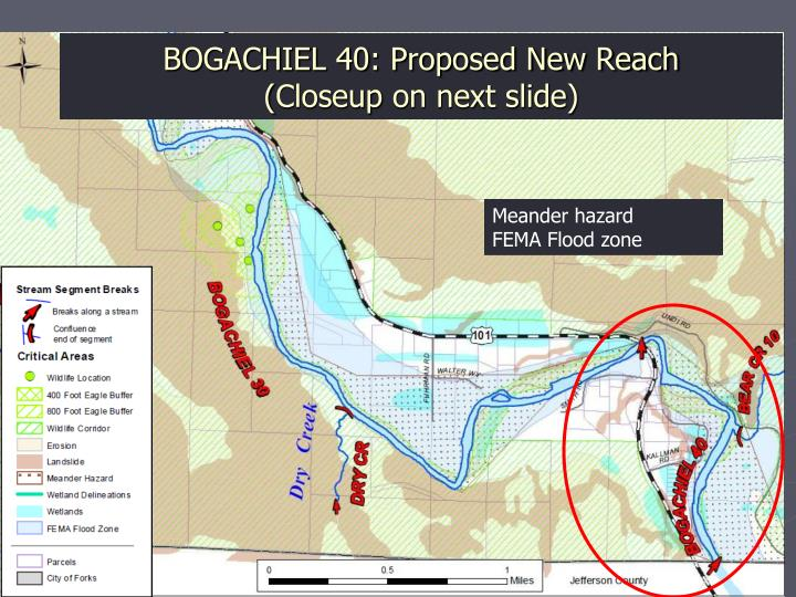 BOGACHIEL 40: Proposed New Reach