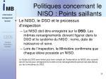 politiques concernant le niso points saillants3