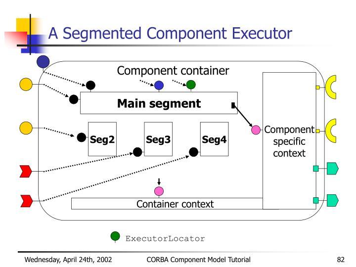 A Segmented Component Executor