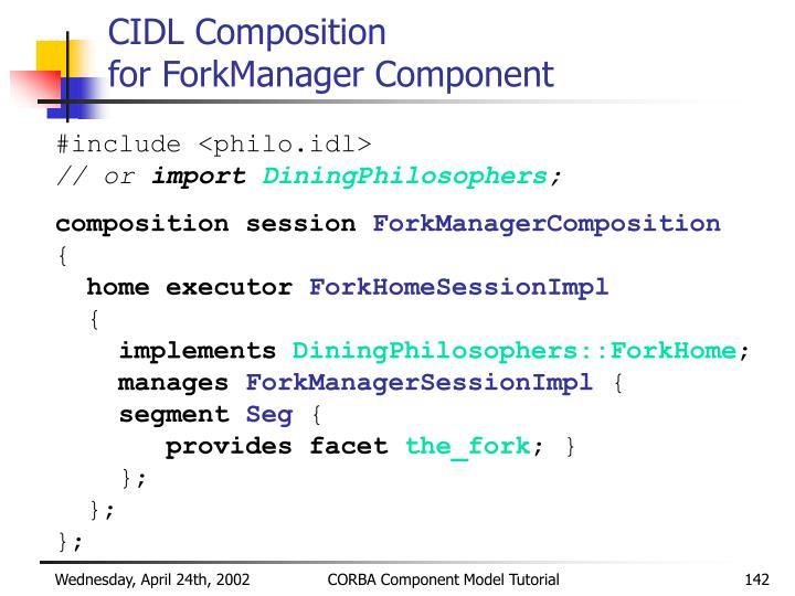 CIDL Composition