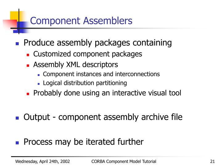 Component Assemblers
