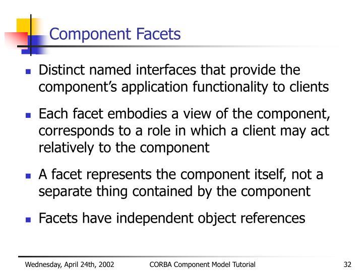 Component Facets