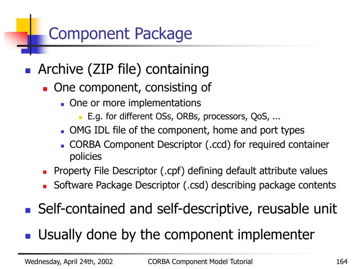 Component Package