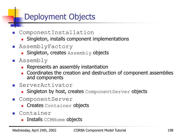 Deployment Objects