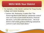 mou with your district1