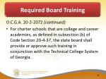 required board training1