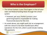 who is the employer2