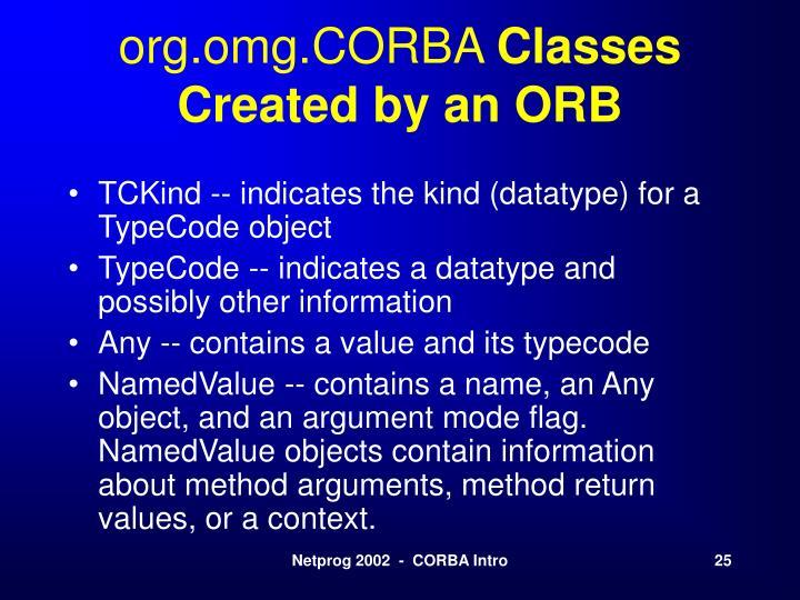 org.omg.CORBA