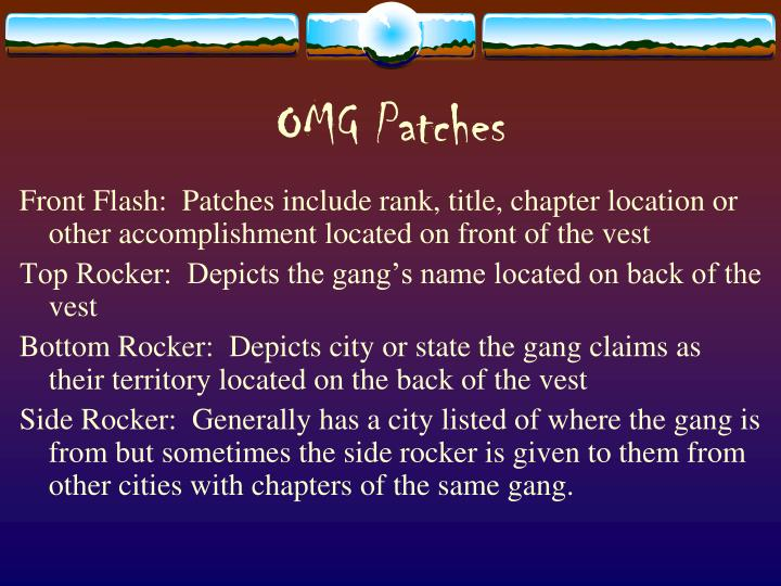 OMG Patches