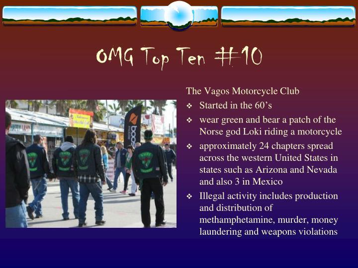 OMG Top Ten #10