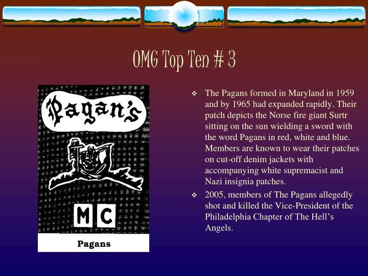 OMG Top Ten # 3
