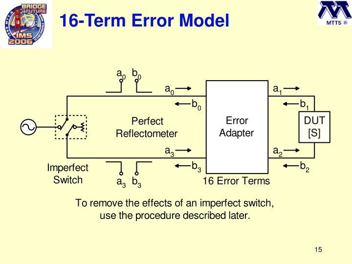16-Term Error Model