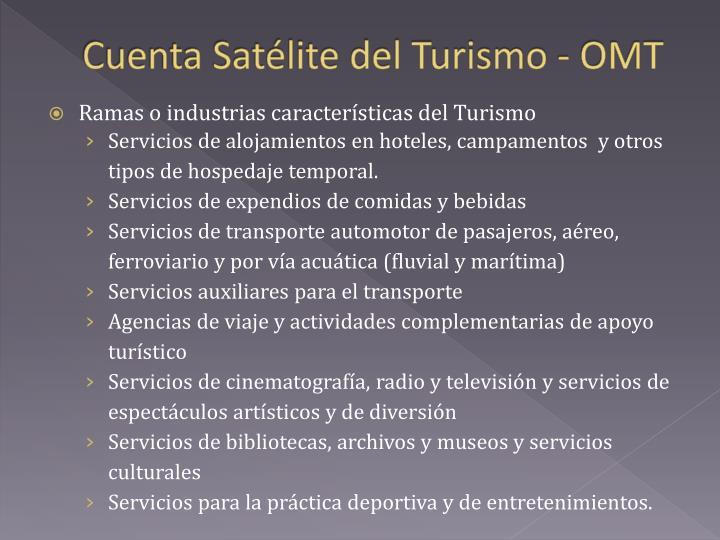 Cuenta Satélite del Turismo -