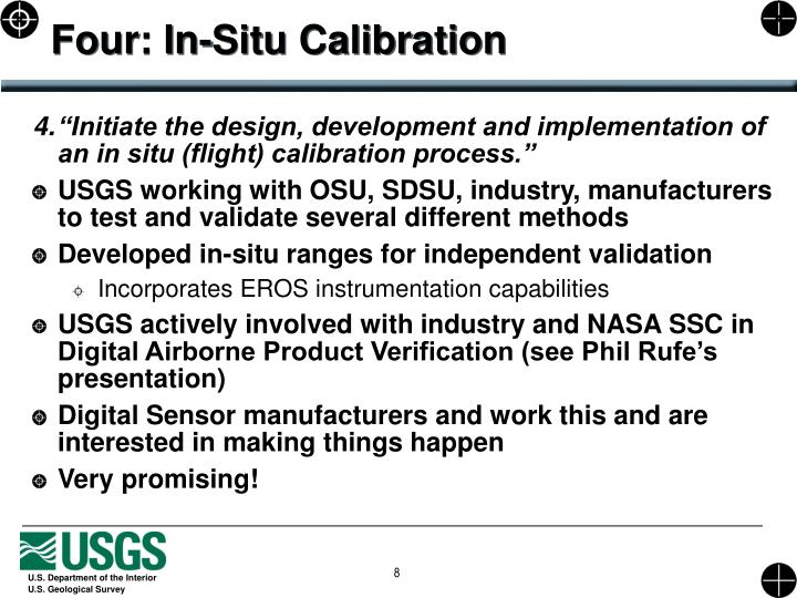 Four: In-Situ Calibration