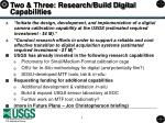 two three research build digital capabilities