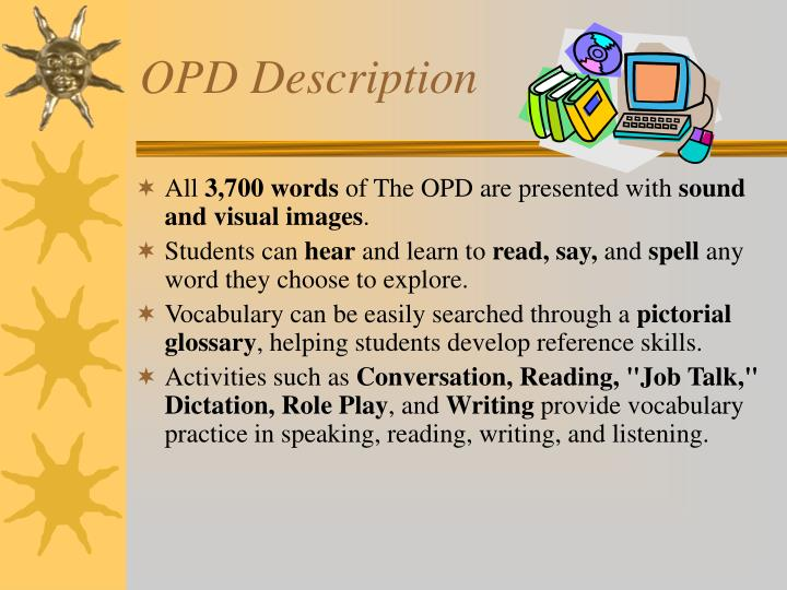 OPD Description