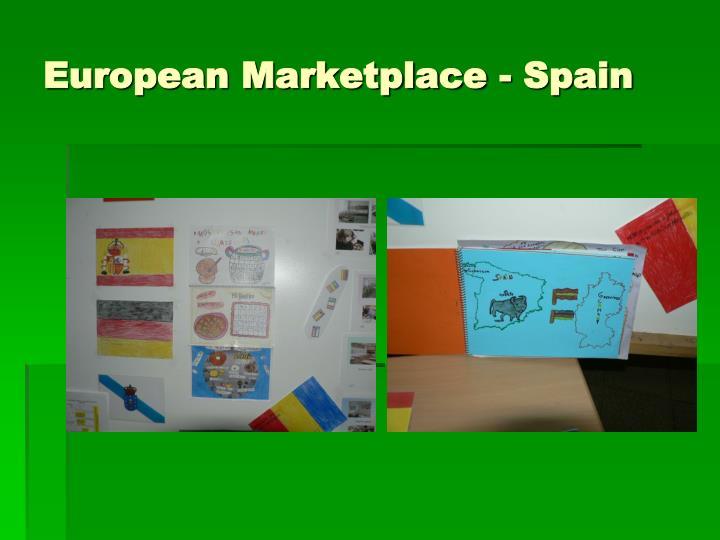 European Marketplace - Spain