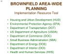 brownfield area wide planning implementation resource tool1