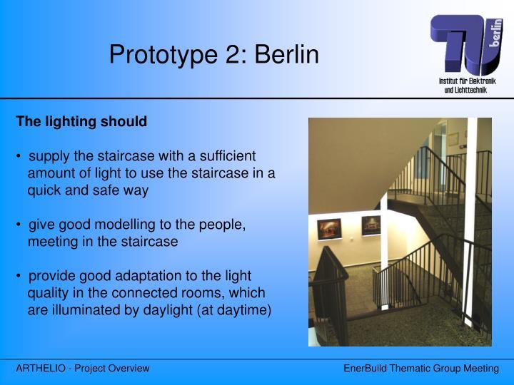 Prototype 2: Berlin