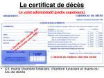 le certificat de d c s3
