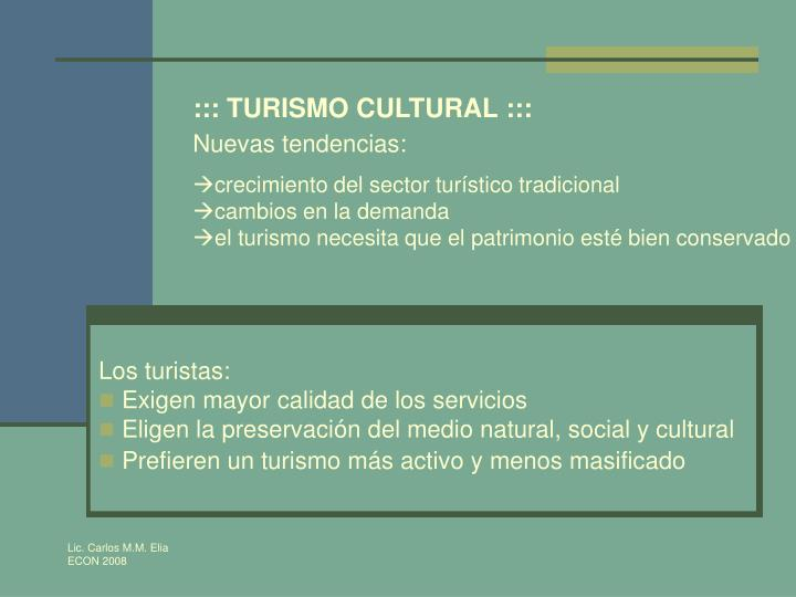 ::: TURISMO CULTURAL :::