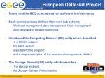 european datagrid project