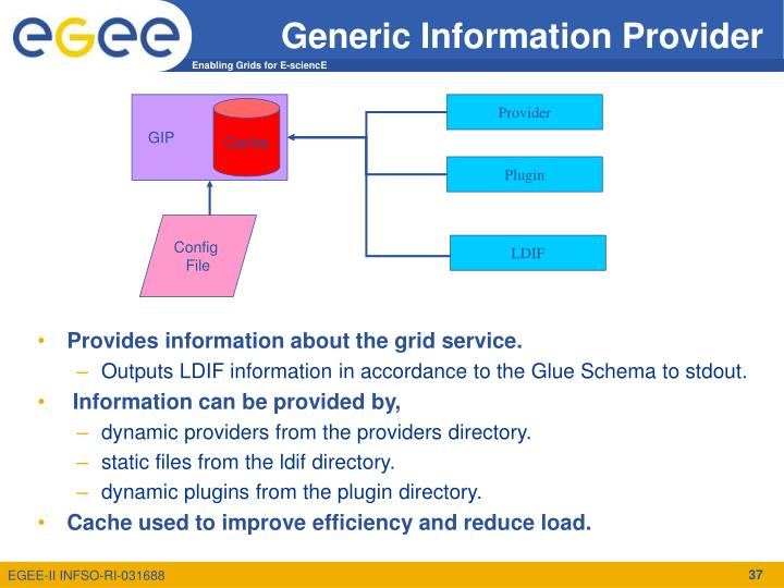 Generic Information Provider