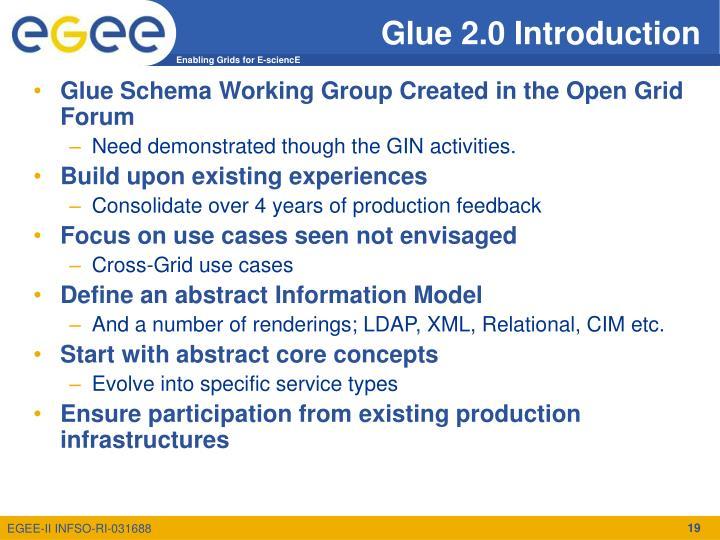 Glue 2.0 Introduction