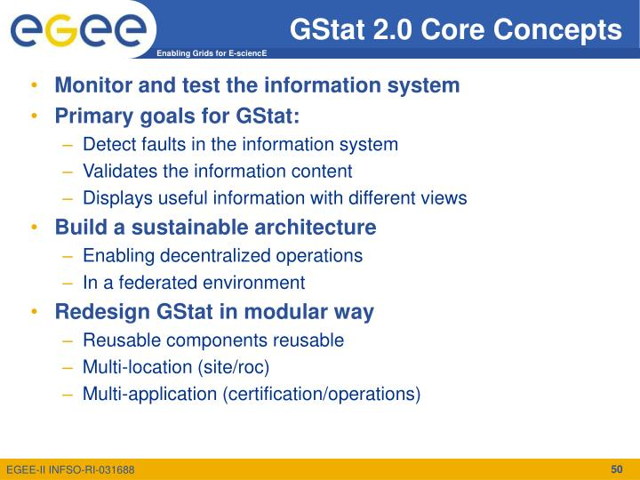 GStat 2.0 Core Concepts