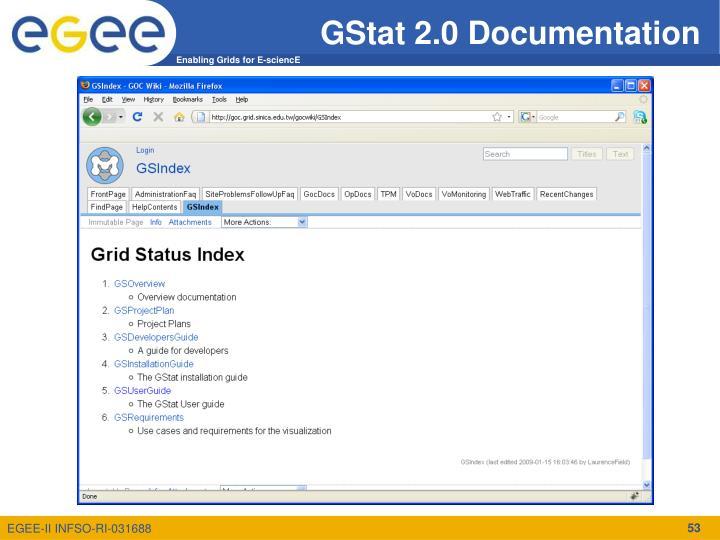GStat 2.0 Documentation