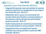 possible cross task activities sb 05 c2