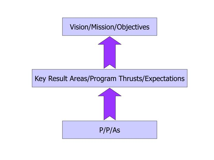 Vision/Mission/Objectives