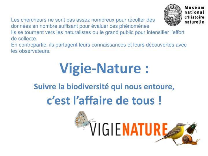 Vigie-Nature :