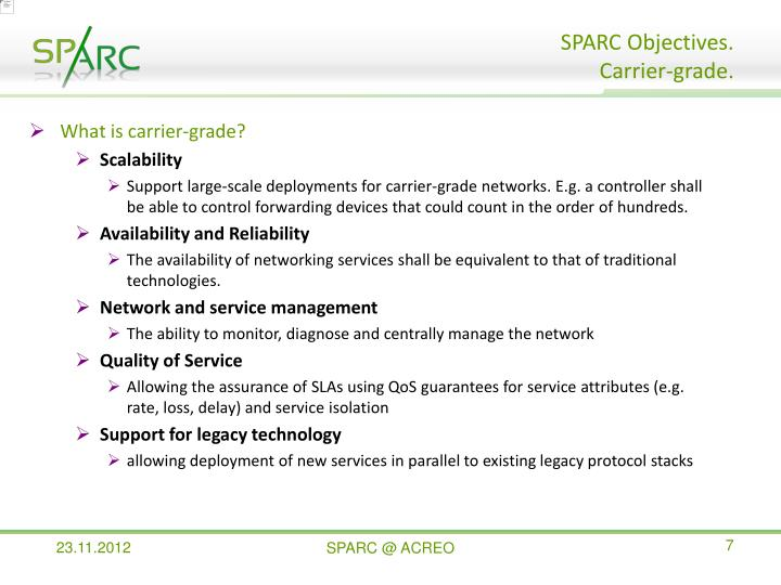 What is carrier-grade?
